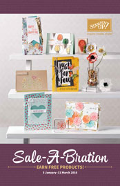 2016 Stampin Up Sale-a-bration Free stamp sets with every $90
