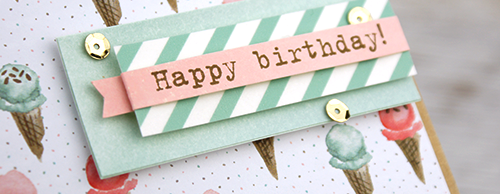 By Teneale Williams | Birthday Bouquet Designer Series Paper by Stampin' Up!
