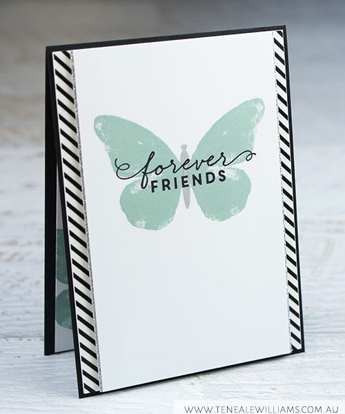 By Teneale Williams | Global Design Project Challenge 27 | Watercolour Wings and First Sight Stamp Set used
