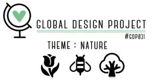 Cardmaking challenge theme :Nature | Global Design Project
