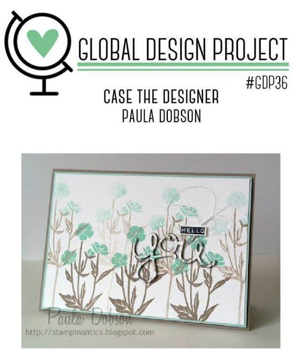Global Design Project | Case the Designer, Paula Dobson