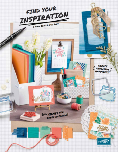 Stampin'Up! Annual Catalogue 2016 2017 | New June 2016