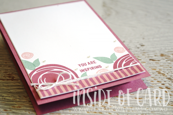 Teneale Williams | Swirly Bird and Thoughtful Banners from Stampin' Up!