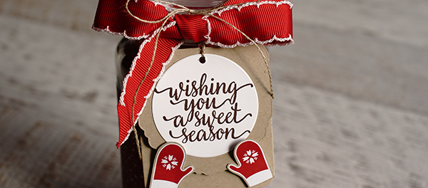 Teneale Williams | STampin'Up! Holiday, Candy Cane Lane suite | Cookie Mix in a Jar