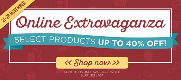 Stampin' Up! Sale. Save now