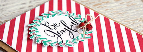 Teneale Williams | Stampin' Up! Christmas Card idea using Project Life Hello December cards