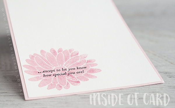 By Teneale Williams | Stampin' Up! Special Reason Stamp Set