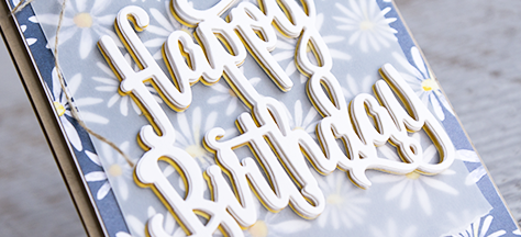 By Teneale Williams | Birthday Card | Stampin' Up!