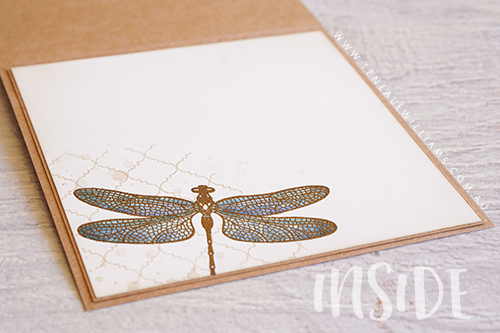 By Teneale Williams | Dragonfly Dreams and Hello Friend Stamp Sets