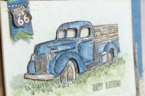By Teneale Williams | Country Livin' from Stampin' Up! | add depth to image