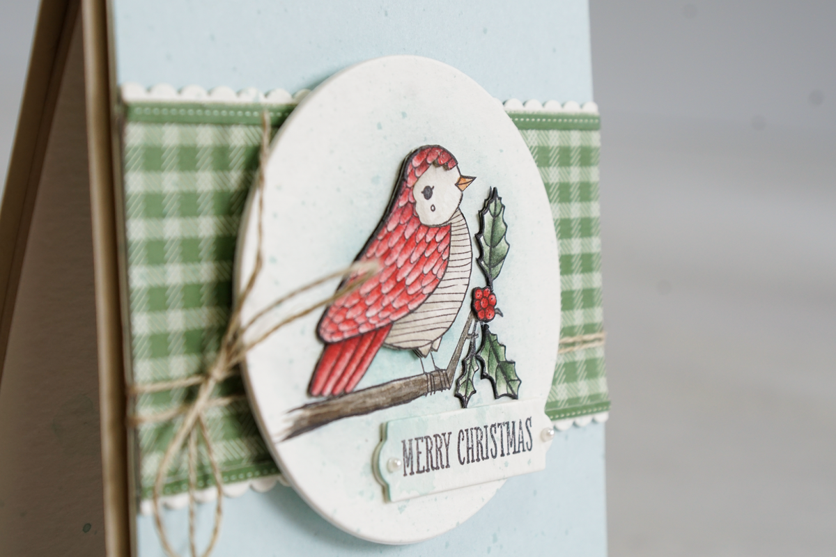 By Teneale Williams | Stampin' Up! Christmas Catalogue Cheery Chirps Stamp Set