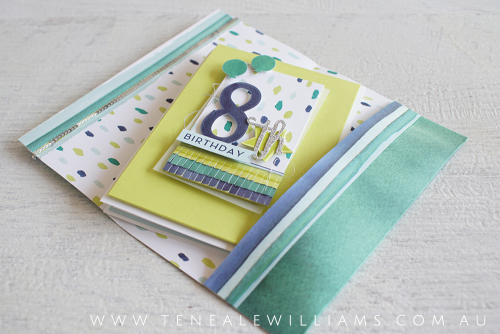 By Teneale Williams | Stampin' Up! Australia | Naturally Eclectic Designer Series