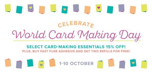 Celebrate World Cardmaking Day 2017
