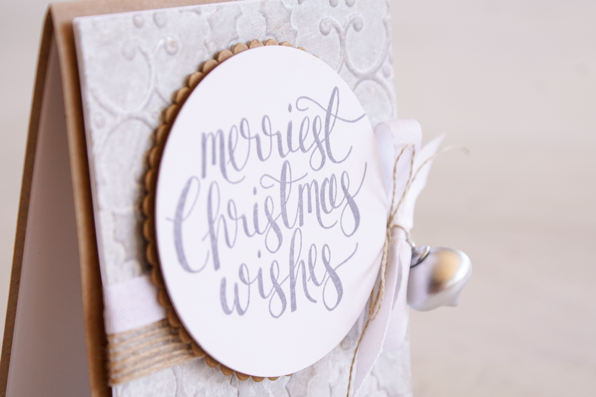 By Teneale Williams | Stampin' Up! Holly Textured Impressions Embossing Folder Tin Tile Inspiration