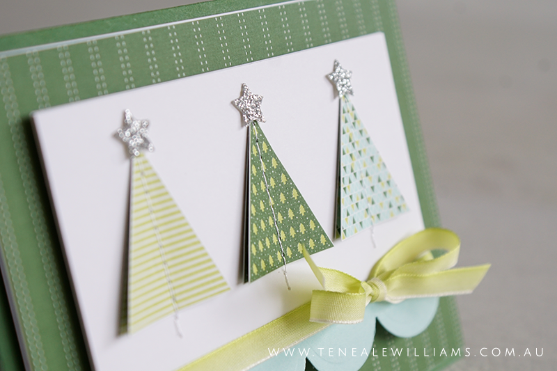 By Teneale Williams | Stampin'Up! Product Suite Quilted Christmas | DSP, Stamp Set and Framelit Dies