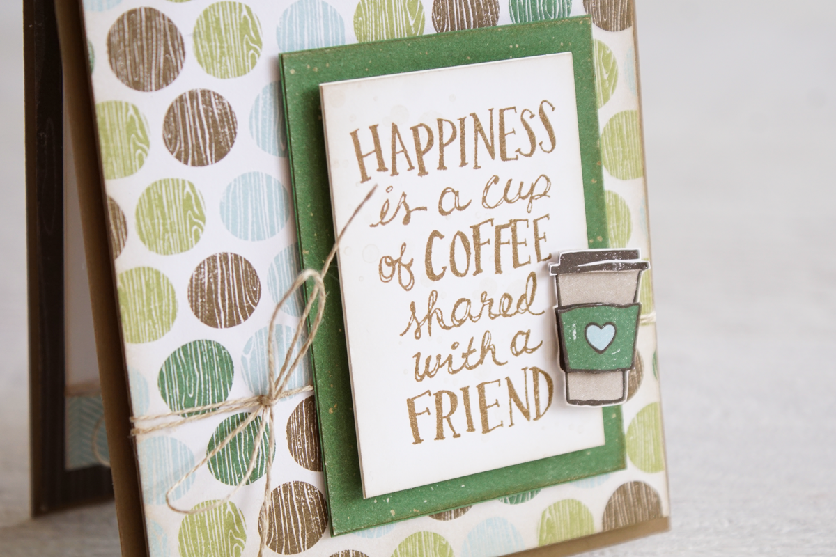 By Teneale Williams | Stampin' Up! | Coffee Café