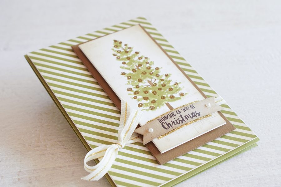 By Teneale Williams | Season Like Christmas Stamp Set from Stampin'Up! | Christmas cardmaking
