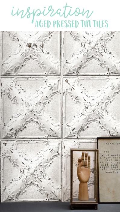 Inspiration | Pressed Tin Tiles