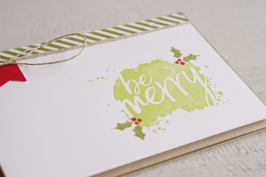 By Teneale Williams   Stampin' Up! Every Good Wish