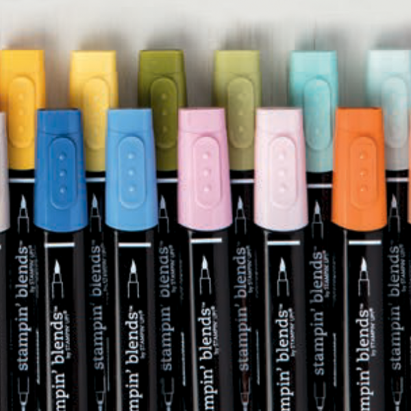 Newly released high-quality, alcohol-based, dual-tip markers come in 12 exclusive Stampin' Up_ colours Teneale Williams