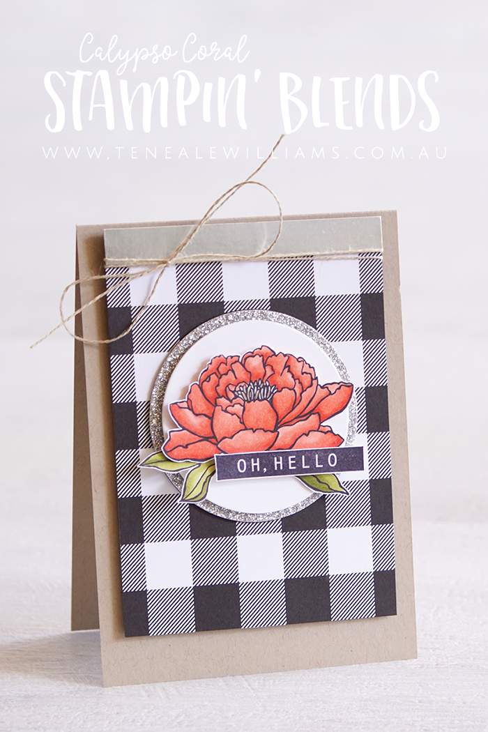 By Teneale Williams | Stampin'Blends