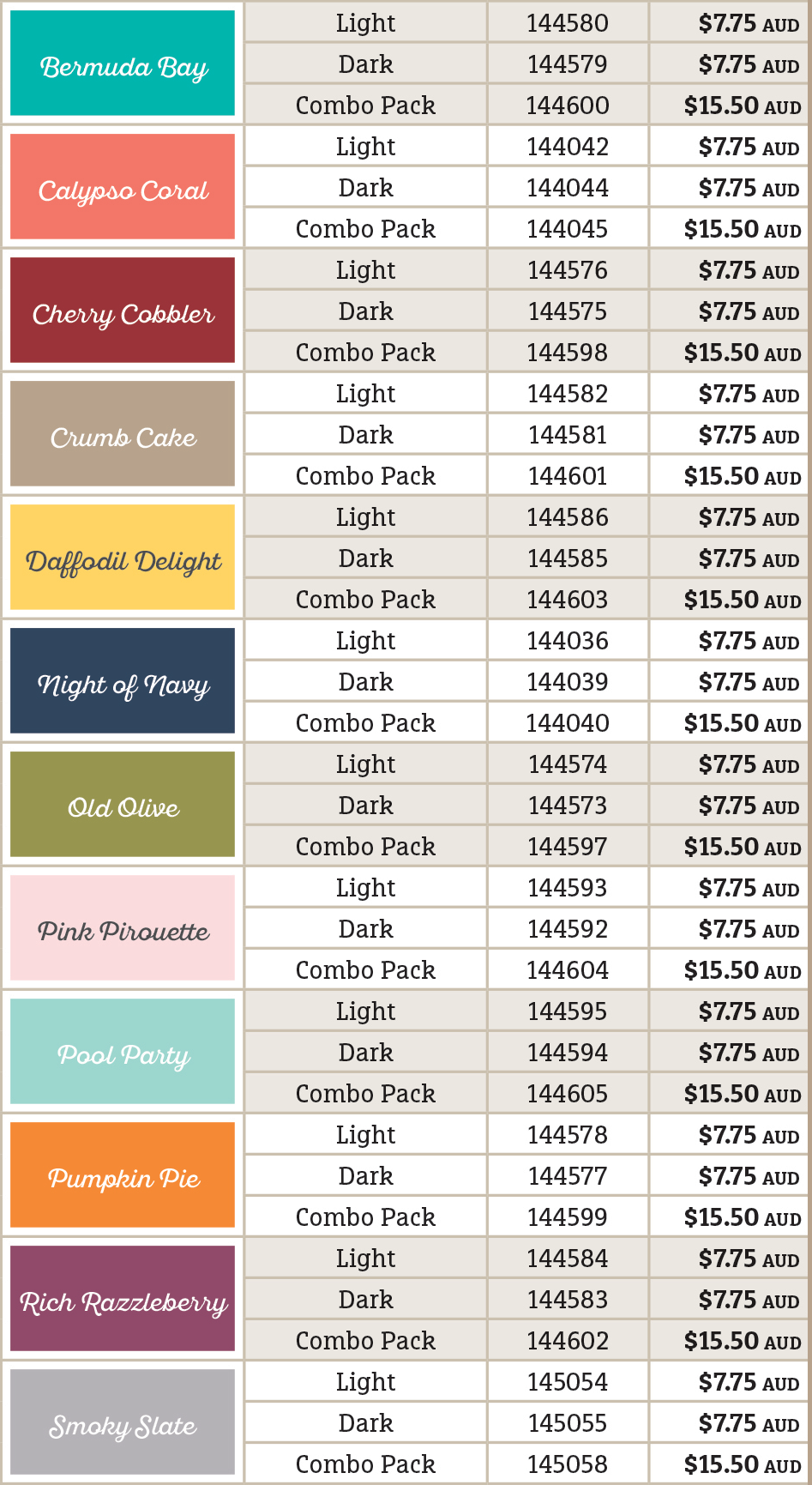 Newly released high-quality, alcohol-based, dual-tip markers come in 12 exclusive Stampin' Up! colours.
