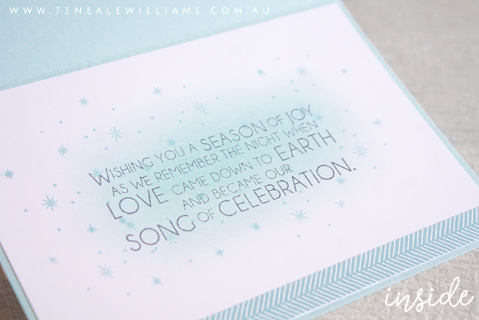 By Teneale Williams | Night In Bethlehem Bundle from Stampin' Up!