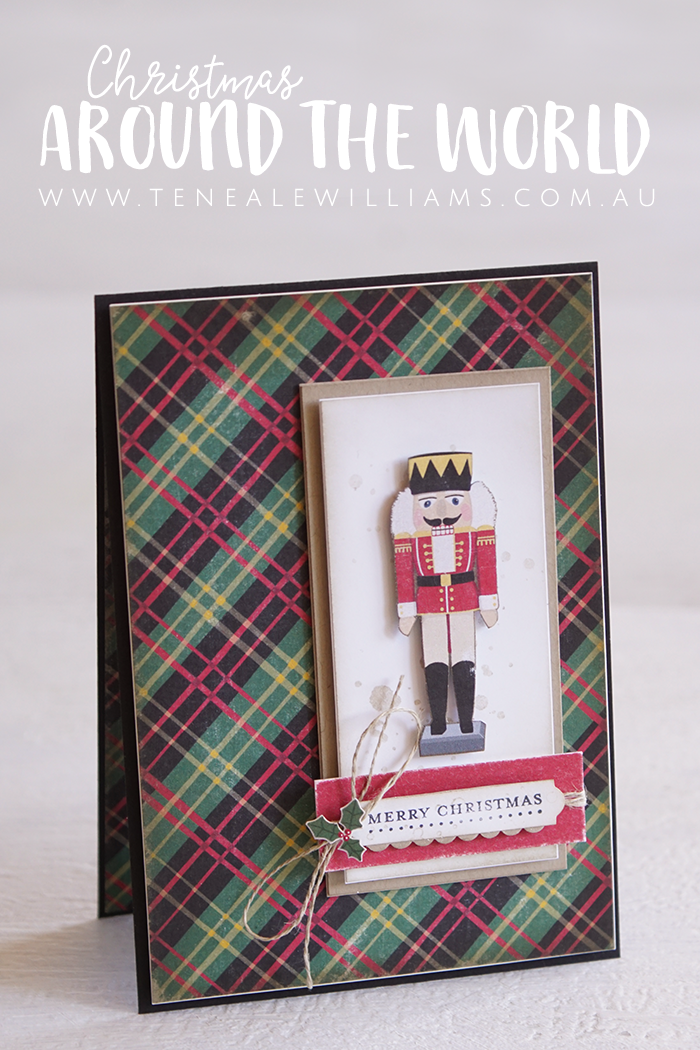 By Teneale Williams | Stampin' Up! Christmas Around the World DSP