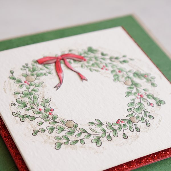 By Teneale Williams | Feeling Of Christmas Stampin' Up! Australia | Christmas Card