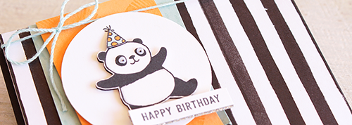 By Teneale Williams | Party Pandas Stamp set from Stampin' Up! | Sale-A-Bration 2018