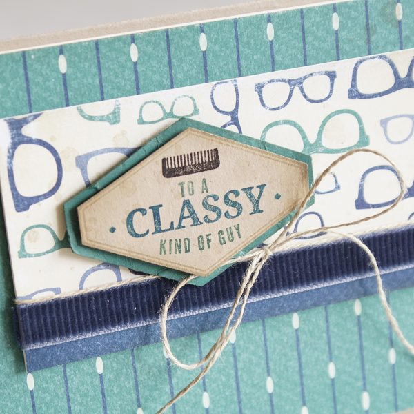 Card designed by Teneale Williams | Truly Tailored Stamp set from Stampin Up!