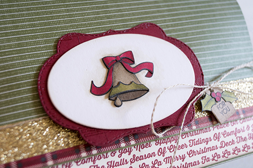 By Teneale Williams Blended Season Bundle from Stampin' Up! | Holly coloured with Stampin' Blends