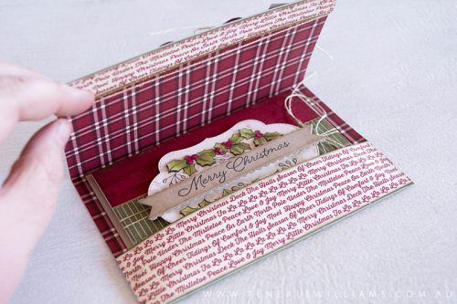 By Teneale Williams Blended Season Bundle from Stampin' Up! with Holly