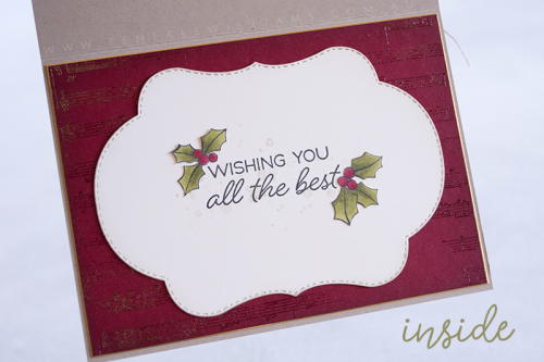 By Teneale Williams | Christmas Card inside