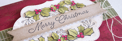 By Teneale Williams Blended Season Christmas Cards