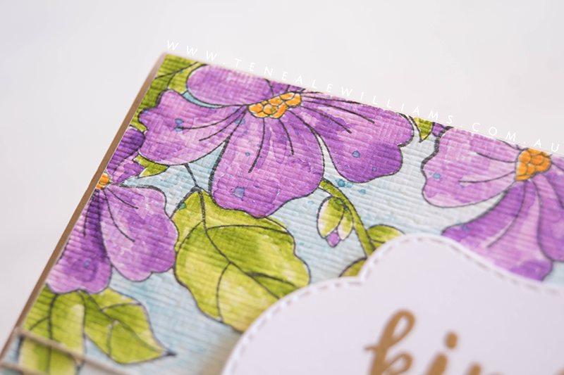 By Teneale Williams   Stampin' Up! Australia   Blended Seasons