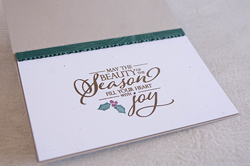 Card by Teneale Williams | Merry CHristmas To All from Stampin' Up!