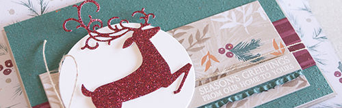 Card by Teneale Williams | Dashing Deer Stamp Set from Stampin' Up!