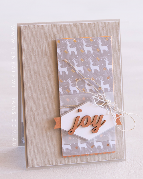 By Teneale Williams | Festive Farmhouse Elements | Joyous Noel Specialty DSP