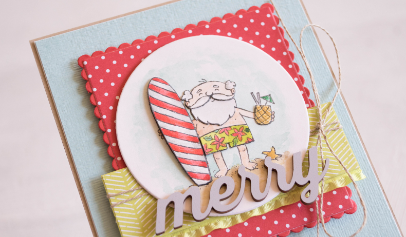 By Teneale Williams | Stampin' Up!® So Santa Stamp Set | Christmas Card 2018