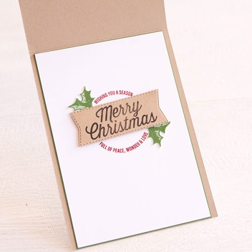 By Teneale Williams | Stampin' Up! Farmhouse Christmas