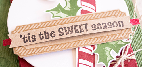 By Teneale Williams | Candy Cane Season stamp set and Merry Christmas to all Bundle