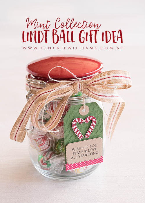 Stampin' Up! Christams Gift Idea using Lindt Balls