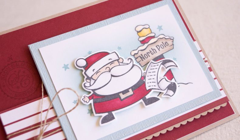 By Teneale Williams | Stampin' Up! Signs of Santa | Christmas 2018