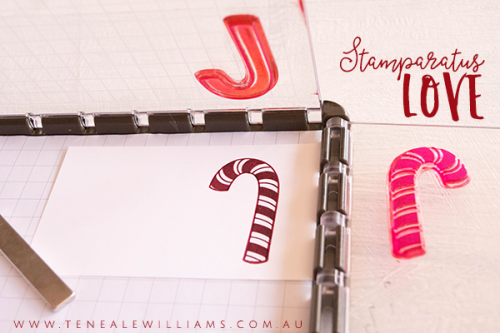 Stampin' Up! Stamparatus with Teneale Williams