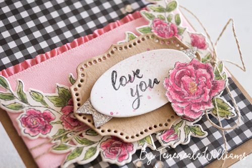 By Teneale Williams | Stampin' Up! Occasions Catalogue 2019 | Climbing Roses Stamp Set watercoloured