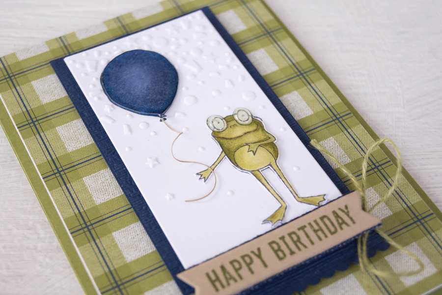 By Teneale Williams | Stampin' Up! Sale-A-Bration free level one stamp set So Hoppy Together