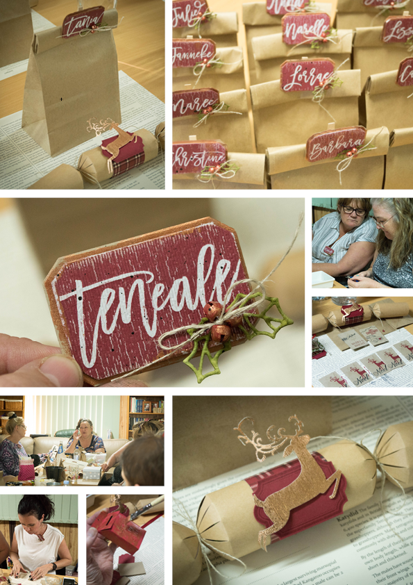 Teneale Williams Stampin' Up! Downline December gathering| Contact Teneale to find out more about joining her team