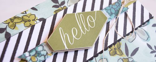 Card by Teneale Williams | Stampin' Up!  Team Blog Hop