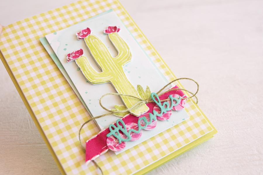By Teneale Williams | Stampin' Up Flowering Desert STamp Set | Fancy Friday blog hop